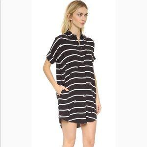 Madewell Break-stripe Courier Dress